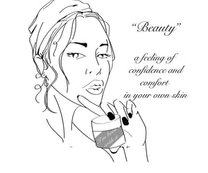 beauty, confidence, and portrait image