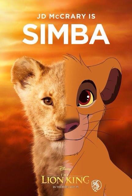background, disney, and simba image
