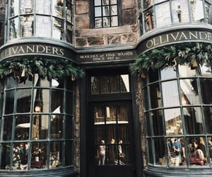harry potter, ollivanders, and aesthetic image