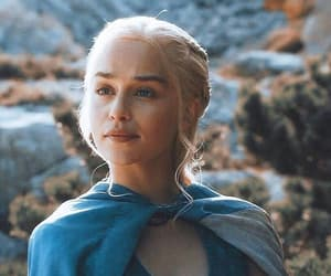 khaleesi, game of thrones, and daenerys targaryen image