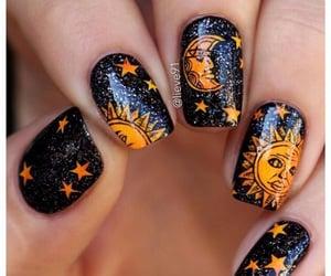art, black, and nails image