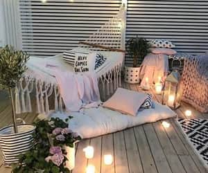 backyard, cute, and cozy image
