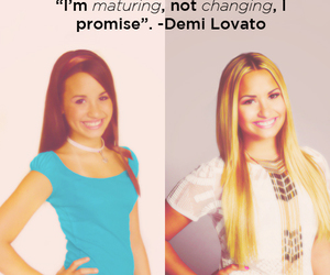demi lovato and quote image