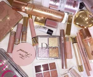 makeup, beauty, and dior image