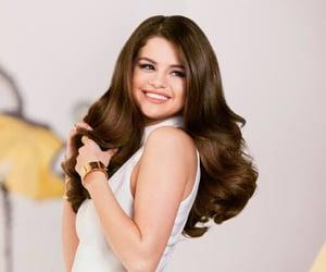 selena gomez, pantene, and hair image