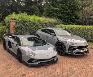 car, grey, and luxury image
