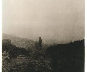 dark, foggy, and mystery image