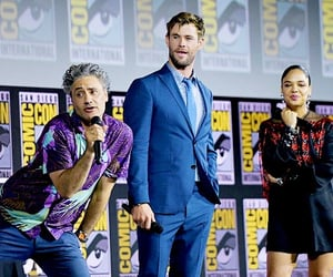 cast, comic con, and Marvel image