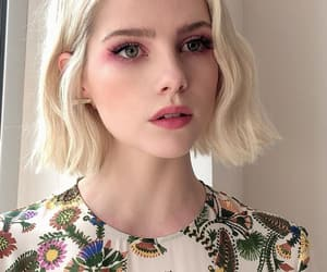 girl, pretty, and lucy boynton image