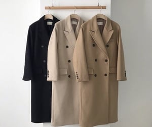 aesthetic, clothes, and coat image