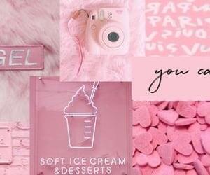 header, pink, and soft image