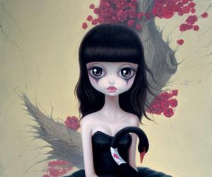 girl, black swan, and chen hongzhu image