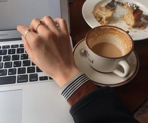 aesthetic, art, and coffee image
