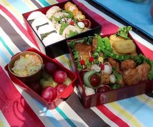 food, miam, and obento image