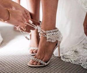 diamond, fashion, and high heels image