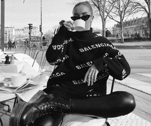 Balenciaga, coffee, and fashion image