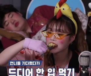 eating, seo sujin, and seo soojin image
