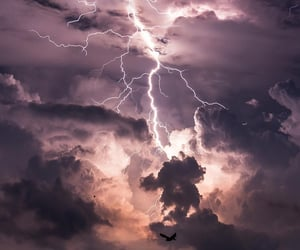 storm, light, and nature image