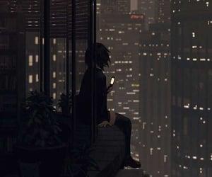 art, city, and anime image