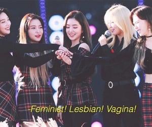feminism, gay, and red velvet image