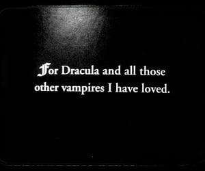 Dracula, goth, and vampire image