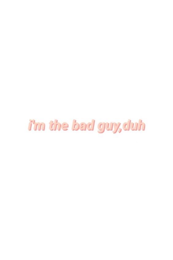 bad guy lyrics billie eilish