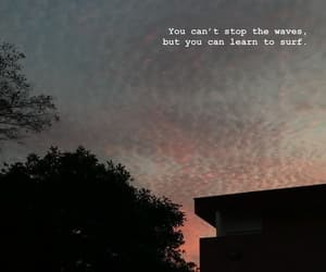 quotes, sky, and waves image