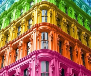 architecture, city, and colors image