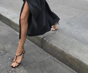 heels, style, and black image
