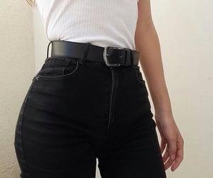 aesthetic, belt, and girl image