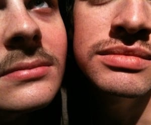 brendon urie, lips, and spencer smith image