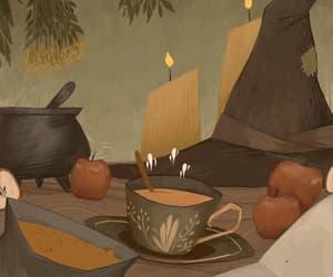 art, autumn, and pumpkin image