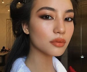 asian, hairstyles, and makeup image