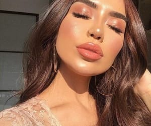 glowing, makeup, and perfect skin image