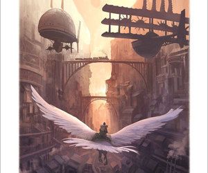 art, fantasy, and steampunk image