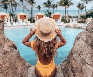 summer, beach, and beauty image