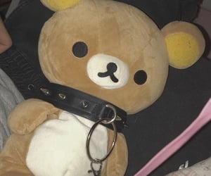 rilakkuma, edgy, and cute image