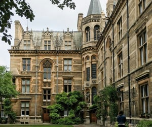 university, architecture, and cambridge image