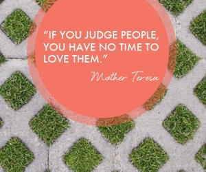 judge, mother teresa, and text image