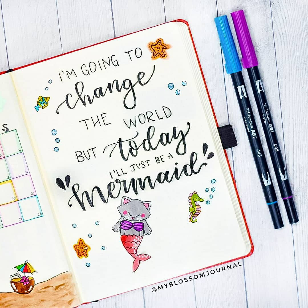 "cristina bullet journal on instagram ""🇬🇧 appropriate quote"