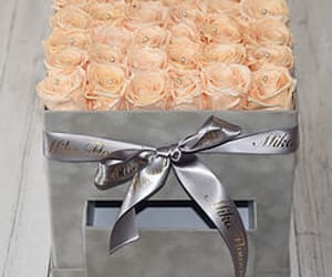 buy year long roses, roses that last a year uk, and wedding flower gift box image