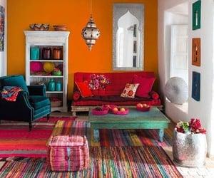boho, house, and colors image