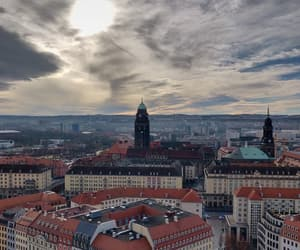 city, dresden, and life image