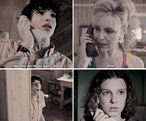 eleven, stranger things, and cara buono image