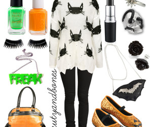bats, pastel, and Polyvore image