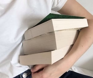 bibliophile, books, and introvert image