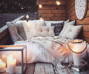chilling, outdoors, and furniture image