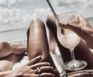 drink, summer legs, and legs summer skinny image