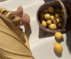fruit, yellow, and food image