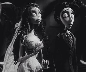 corpse bride, tim burton, and movie image